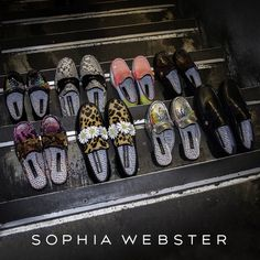 Sophia Webster X The Patrick Cox Collection Coming Soon. The Godfather, Sophia Webster, Gucci, Loafers, Women's Fashion, Shoes, Collection, Travel Shoes, Fashion Women
