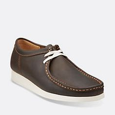 Mens Wallabee Aerial Beeswax Leather - Mens Medium Width Shoes - Clarks® Shoes
