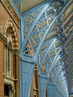 St Pancras buttresses, functional beauty