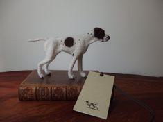 Needle felted dog English pointer