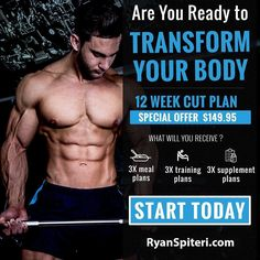 Start your transformation today Click the link in my bio to get started @ryan_spiteri This plan is suitable to Males & Females of all ages that wants to change their poor eating habits to learn a new way of eating with balance and lose fat in the process.  TAG your friend that you want to try this with