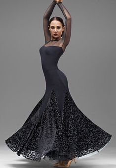 Chrisanne Harmony Ballroom Dance Dress| Dancesport Fashion @ DanceShopper.com