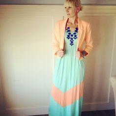 Blue Fashion Bubble Bib Necklace · SunDaisy Boutique · Online Store Powered by Storenvy