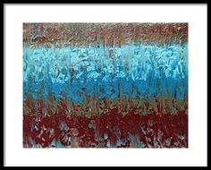 Framed Print featuring the painting Red Clay by Jena Medders