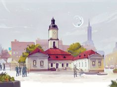 Old town hall of Bialystok