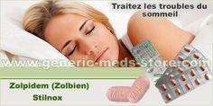 Zolpidem Zolbien/Stilnox pour traiter les troubles du sommeil et l'anxieté. Maintenant sans ordonnance et à prix discount.
