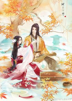 26 New Ideas Painting Art Couple Japanese Couple, Japanese Art, Manga Love, Anime Love, Anime Art Girl, Manga Art, Chino Anime, Romantic Anime Couples, Chinese Drawings