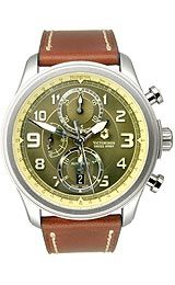 Victorinox Swiss Army Infantry Vintage Military Green/Tan Dial Men's Watch