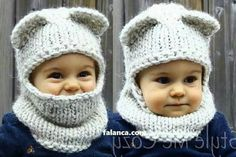 Discover thousands of images about Free Knitting Pattern for I'm a Hoot Hat - This pattern for an owl baby hat comes with a free video tutorial. Baby Hats Knitting, Crochet Baby Hats, Knitting For Kids, Crochet Beanie, Loom Knitting, Crochet For Kids, Baby Knitting Patterns, Crochet Clothes, Knitting Projects
