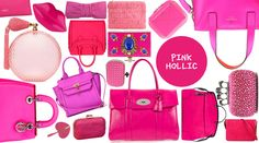 pink bag hollic