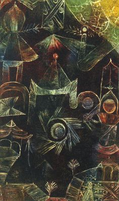 PAUL KLEE Cosmic Architecture (1919)
