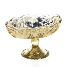 Gold mercury glass c