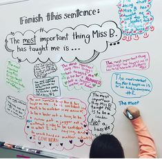 I would love to do this on a student teacher's last day. I think it would be super sweet and encouraging way for the kids to say goodbye