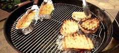 Alton Brown's Recipe for Grilled Grilled Cheese #grilledcheese #altonbrown #grilled #recipes