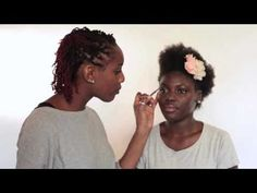 Bridal inspired makeup for darker skin tones Makeup Trends, Makeup Ideas, Makeup Tips, Hair Makeup, Chocolate Girls, Dark Skin Makeup, Black Bride, Dark Skin Tone, Wedding Make Up
