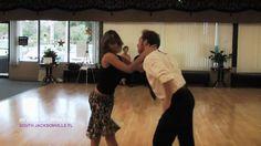 Arthur Murray South Jacksonville Fl dance instructors demonstrate Salsa
