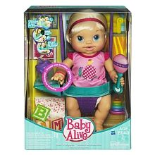 BABY ALIVE - Wets 'N Wiggles Doll