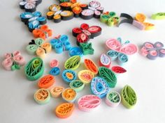 Paper Quilling - How to Make Quilled Butterflies and Flowers