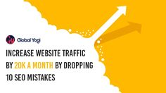 If you run an eCommerce site, traffic means leads. Of course, after that it depends on how your sales and marketing team takes all that inbound marketing forward. Sales And Marketing, Digital Marketing, Inbound Marketing, Mistakes, Ecommerce, Seo, Website, E Commerce