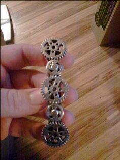please!! steampunk hair clip? yes!