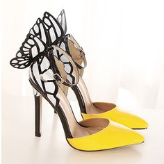 Sweet Bowknot Pointed Toe Stiletto Shoes #womenfashion #popular #High heel #wedding #gifts