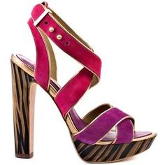 I just discovered this while shopping on Poshmark: BCBGMaxazria Pink Purple Platforms. Check it out!  Size: 9