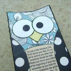 Scripture Owl