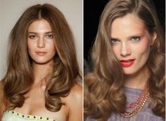 obsessed with the blowout on the left via My Soul is the Sky: Hair Trends for 2012