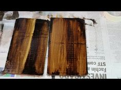 DICA - Como usar o Betume da Judeia / TIP - How to Use Bitumen of Judea - YouTube Decoupage, Diy And Crafts, Arts And Crafts, Being Used, Wood, Tips, Painting, Vintage, Youtube