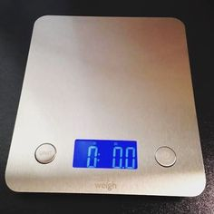 This is a great scale, it has quickly replaced my old kitchen scale. Let's face it you need a scale to do a couple of things, most of all is be accurate at measuring. This scale does this, does this well and looks great while doing it. It is really thin which is super nice because I keep it in a draw and it slides in there nice and flat. The readout is very nice and you can tare it or switch the units easily. The stainless steel finish and ultra thin design make this scale stylish enough to…