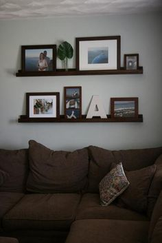 DIY Home  : 	 Gallery Wall & DIY Picture Ledges