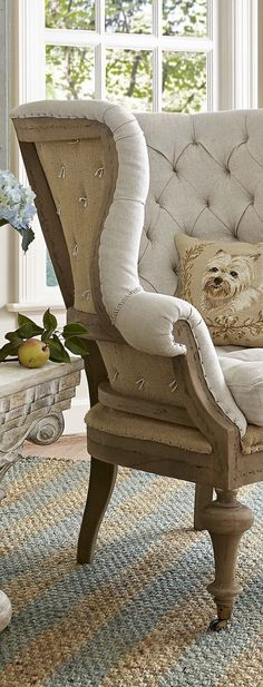 Shabby to Chic: Five Ways to Revamp and Modernize Your Shabby Chic Room - Sweet Home And Garden Distressed Furniture, Shabby Chic Furniture, Find Furniture, Furniture Design, Furniture Ideas, Wing Chair, Upholstered Furniture, Bedroom Furniture, Furniture Inspiration