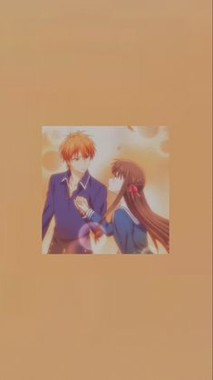 kyo and tohru aesthetic wallpaper
