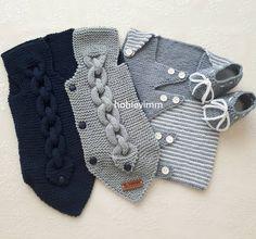 """1,451 Beğenme, 26 Yorum - Instagram'da Bebek örgüleri satış sayfası👶 (@hobievimm): """"Günaydın arkadaşlarlar 🙋💕💗serin ve miss gibi bir sabah🤗burası tam örgü yeri yazın örmek isteyenler…"""" Baby Boy Sweater, Crochet Bebe, Boys Sweaters, Baby Knitting Patterns, Fashion, Sweater Vests, Tejidos, Knitting Patterns Baby, Baby Knitting"""