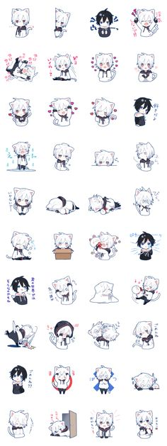 This is Mafumafu official stickers.