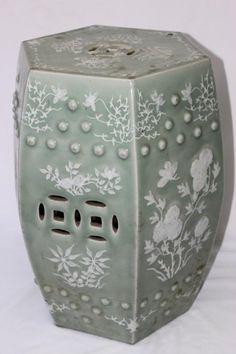 Chinese Ceramic Stool,