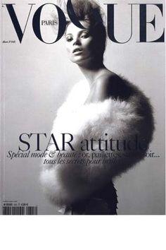 White Swan - British ÜberIcon and MegaModel Kate Moss for Vogue Paris