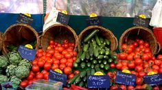 Fresh Fruit and Vegetables by Month
