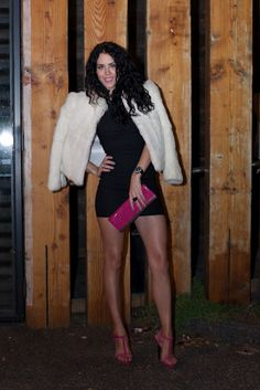 Fashion Addict ~ Clubbing outfit and Vintage Fur. @i