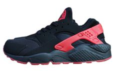 Nike Air Huarache Love/Hate pack gives you best of both worlds with the all red and all black suede silhouette to choose from..