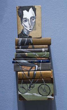 Boekenkunst van Mike Stilkey
