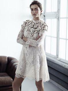Kjole og smykke fra H&M Consious