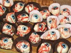 These look fun to make for zombie party