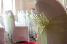 events by designer chair covers queen anne style 29 best and bows images wedding chairs sashes hire beautiful from grand design weddings event organization diy