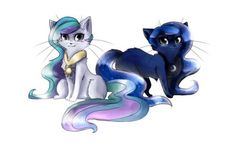 Princess Celestia and Princess Luna Kitties