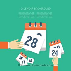 Free Vectors: Vector Calendar Background   Backgrounds