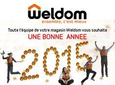 Toute l'équipe de votre magasin weldom chaumont vous souhaite une Bonne Année 2015 !!!