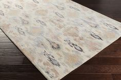 Banshee Area Rug | Brown Ikat and Suzani Rugs Hand Tufted | Style BAN3352