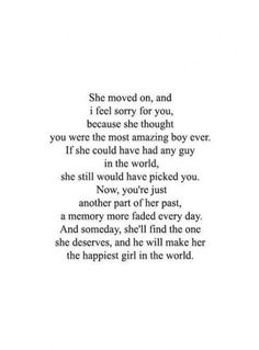 Breakup quotes - Trendy quotes about moving on after a breakup memories my heart quotes New Quotes, Mood Quotes, True Quotes, Quotes To Live By, Inspirational Quotes, Baby Quotes, To Late Quotes, Boy Quotes Tumblr, Quotes For Breakups