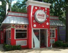 Coca Cola shop...